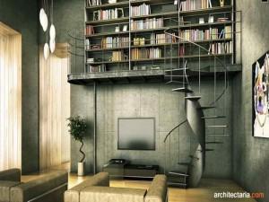 desain interior ruang baca_2