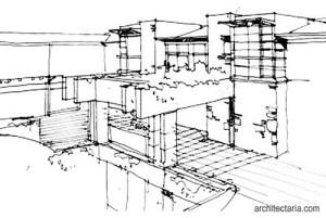 gambar-sketsa-bangunan