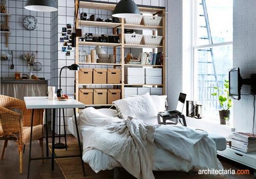 menata dan mendekorasi kamar kos rapi efektif dan