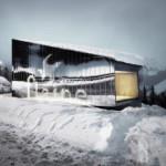 Penambahan Mirror-clad pada Pusat Pengunjung di Sebuah Resort Ski Milik Marcel Breuer
