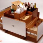 Sajikan Aneka Minuman dan Camilan Lebaran di Ruang Tamu dengan Serving cart