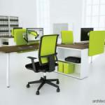 Mewujudkan Kantor Ergonomis dengn Furnitur dan Lighting yang Memadai