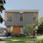 Main Street House, Desain Rumah Kompak, Efisien, dan Sangat Responsif terhadap Lingkungan