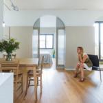 Remodelling Project dari Nook Architects pada Sebuah Apartemen 1 Kamar Tidur