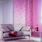 Ruangan Semakin Gaya dengan Warna Merah Muda