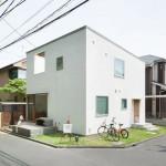 Oeuf : Desain Galeri plus Studio dengan Volume Oval di Tokyo
