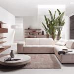 Mempercantik Ruang Tamu dengan Aksen Kayu dan Batu Alam