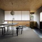 Renovasi Rumah Tua Menjadi Studio Arsitektur Lanskap Bebatuan Karya Ogawa Sekkei