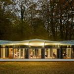 Desain Paviliun di Taman Tepi Danau Karya Barkow dan Leibinger