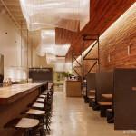 Ide Dekorasi Interior Restoran Berukuran Kecil nan Mungil