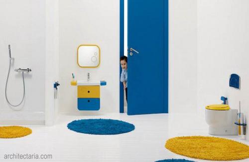 desain interior kamar mandi untuk anak anak