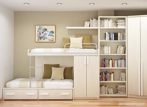 penataan kamar sederhana