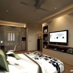 Menempatkan TV pada Kamar Tidur