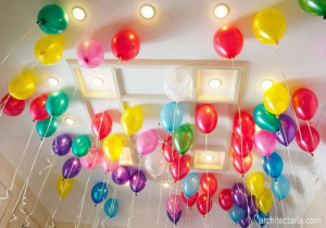 menghias rumah dan membuat dekorasi ruangan untuk acara