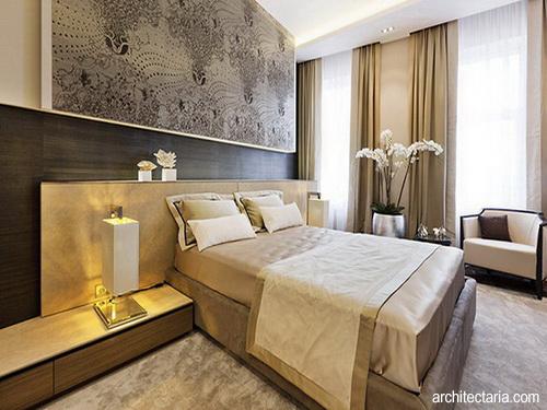 desain interior kamar tidur bergaya art deco pt