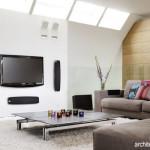 Menata Ruangan yang Dilengkapi TV Layar Lebar
