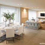 Menata dan Mendekorasi Meja Bundar: Meja Makan, Meja Tamu, Meja di Serambi