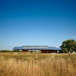 Pavilion Kayu yang dijadikan Pusat Studi di Daratan Texas Karya Lake Flato