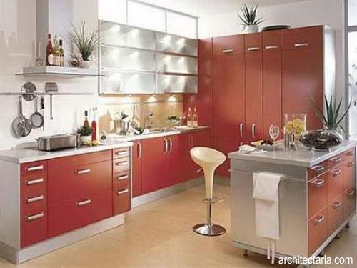 Desain Interior Dapur Modern Ukuran Mungil 1