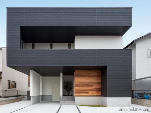 warna cat rumah exterior desain rumah