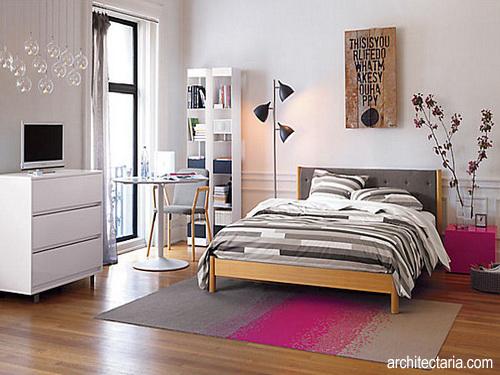 ide desain kamar tidur berukuran kecil untuk remaja pt