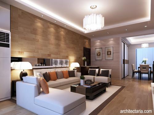 Desain Interior Ruang Tamu Bera Modern 1