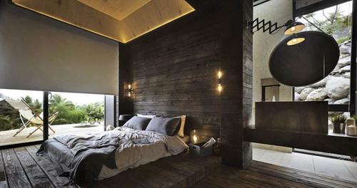 desain rumah tradisional yang diubah menjadi modern dengan