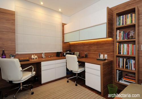 Membuat Desain Interior Ruang Kerja Di Rumah Yang