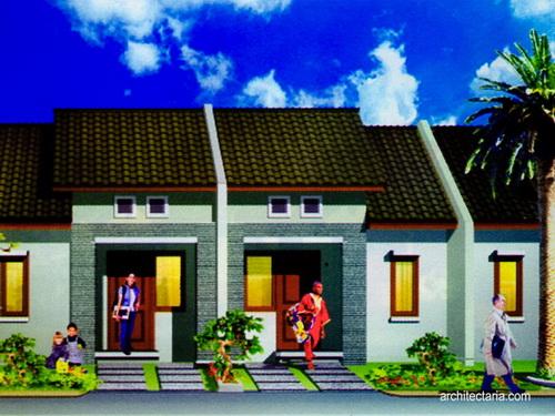 Desain Rumah Mungil Type 27