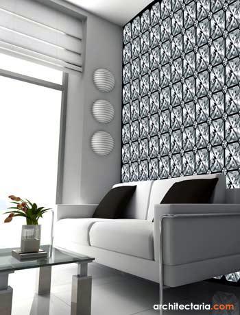 Interior Desain Tips Dekorasi Dinding Ruangan Dengan Wallpaper