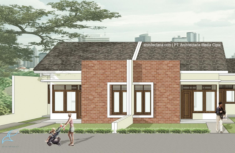 Desain Rumah Mungil Type 45 | PT. Architectaria Media Cipta