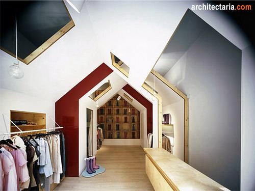 Desain Rumah Dan Ruang Usaha Ruko Rukan 2 Lantai