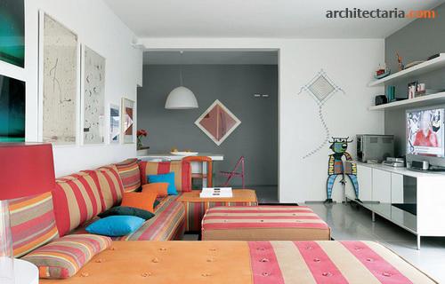 Desain Rumah Ber a Modern Eklektik