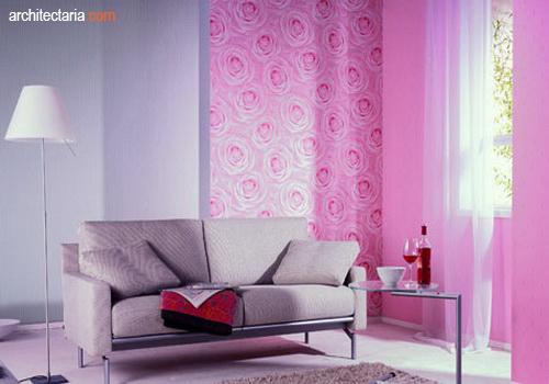 Ruang Keluarga Pink Tips Mengaplikasikan Warna Merah Muda Pada Interior Ruangan