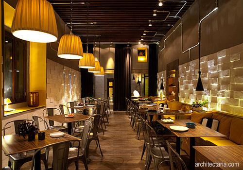 Desain Interior Restoran 2
