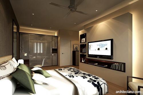 Menempatkan Tv Pada R Tidur Pt Architectaria Media Cipta