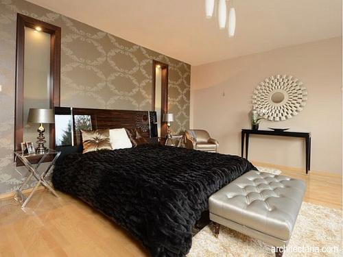 Desain Interior Kamar Tidur Ber a Art Deco
