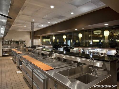 Desain Dapur Stainless Buat Restoran 1