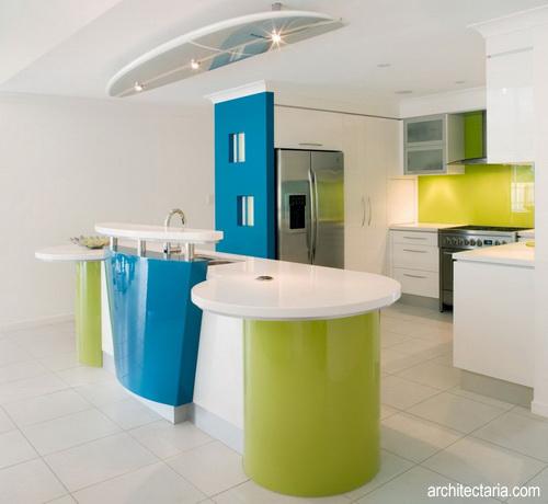 Desain Dapur Warna Pastel 3