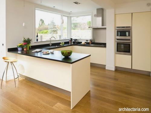 Desain Interior Dapur Berbentuk U 1