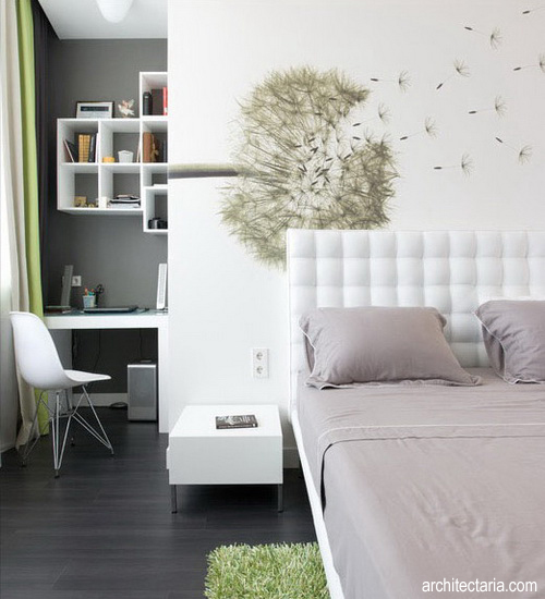 desain interior kamar tidur remaja 2