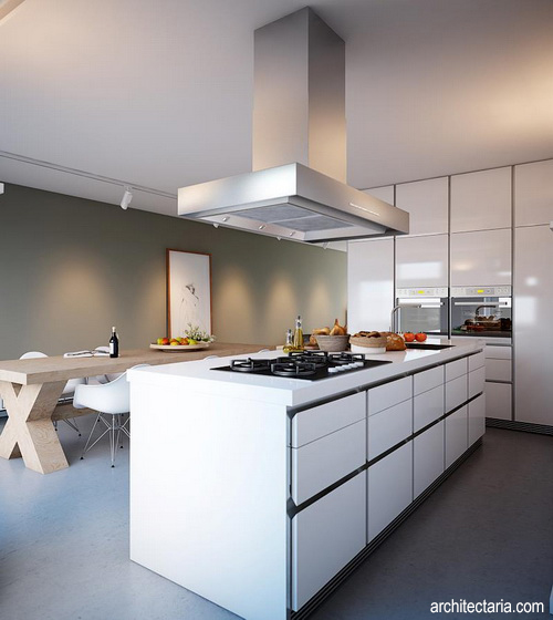 Desain Dapur Dan Kitchen Island 2